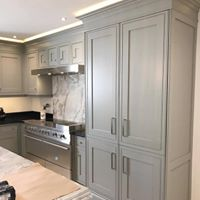 Hand Painted Kitchens For Clive Christian Interiors Marbella ...